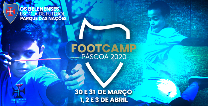 Pascoa2020 FootCamp Site